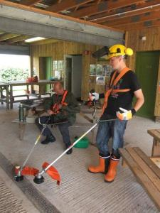 brushcutter training