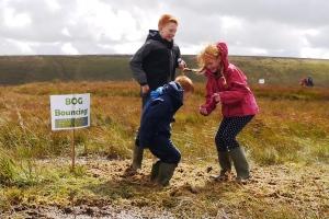 Bog bouncing - a Bogtastic favourite !